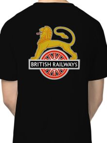 BRITISH RAILWAYS, SIGN, First logo, British Railways, 'Cycling Lion' Classic T-Shirt