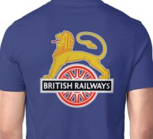 BRITISH RAILWAYS, BR, SIGN, First logo, British Railways, 'Cycling Lion' Unisex T-Shirt