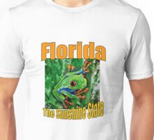 FLORIDA THE SUNSHINE STATE SERIES OF ARTWORK Unisex T-Shirt