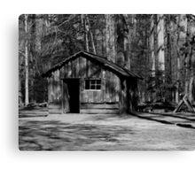 Battlefield Park Shelter Canvas Print