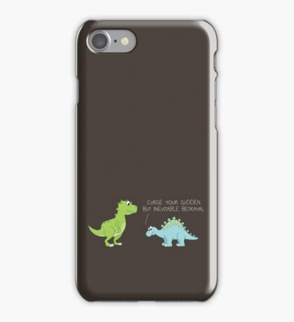Your Sudden, But Cute, Betrayal iPhone Case/Skin