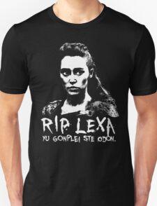 RIP Lexa Unisex T-Shirt