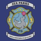 Sea Parks Fire Department by mustbethursday