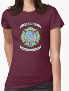 Sea Parks Fire Department Womens Fitted T-Shirt