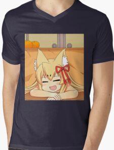 Tamamo | MGQ Mens V-Neck T-Shirt