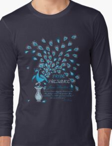 Paisley Peacock Pride and Prejudice: Classic Long Sleeve T-Shirt
