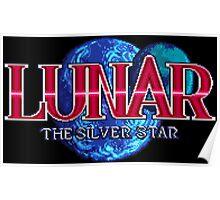 Lunar: The Silver Star (Sega CD Title Screen) Poster