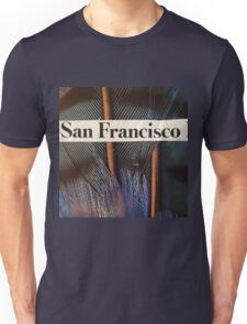 Francisco the Peacock Unisex T-Shirt