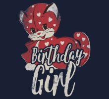 Vintage Birthday Girl One Piece - Short Sleeve
