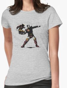 Here I Come Womens Fitted T-Shirt