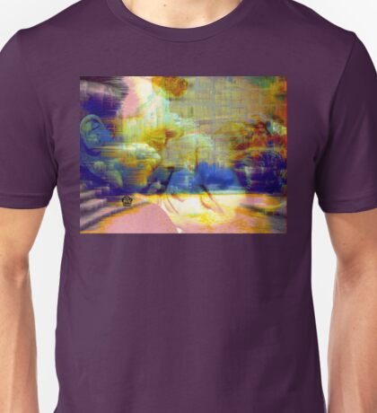 Abstraction of Cary and Ingrid Unisex T-Shirt