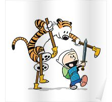 hobbes and calvin time advanture Poster