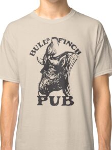 Bull and Finch pub t-shirt – Cheers, Frasier, Vintage/Weathered Classic T-Shirt