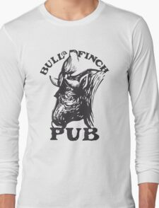 Bull and Finch pub t-shirt – Cheers, Frasier, Vintage/Weathered Long Sleeve T-Shirt