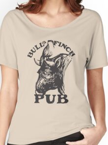 Bull and Finch pub t-shirt – Cheers, Frasier, Vintage/Weathered Women's Relaxed Fit T-Shirt