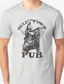Bull and Finch pub t-shirt – Cheers, Frasier, Vintage/Weathered T-Shirt