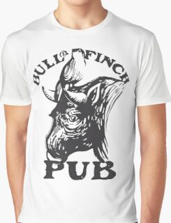 Bull and Finch pub t-shirt – Cheers, Frasier, Vintage/Weathered Graphic T-Shirt