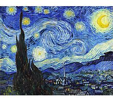Vincent van Gogh - Starry Night Photographic Print