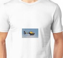 Police Helicopter. Unisex T-Shirt