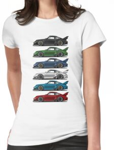 Rauh Welt 911 s Womens Fitted T-Shirt