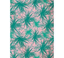 Dragon Plant Pattern - Pink Variation Photographic Print