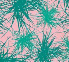 Dragon Plant Pattern - Pink Variation Sticker