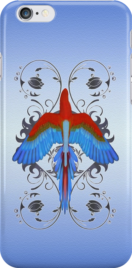 Wings .. iphone case by LoneAngel