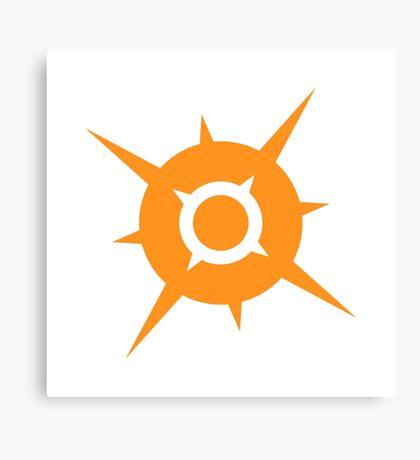 Pokemon Sun Canvas Print