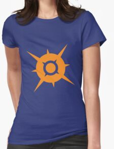 Pokemon Sun Womens Fitted T-Shirt