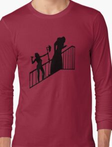 Buffy VS Count Orlok! Long Sleeve T-Shirt