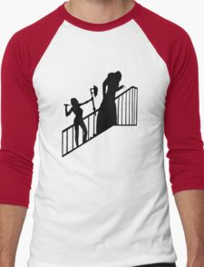 Buffy VS Count Orlok! Men's Baseball ¾ T-Shirt