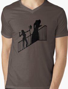 Buffy VS Count Orlok! Mens V-Neck T-Shirt