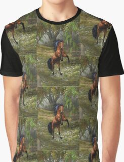 Wild and Free .. the bay mare Graphic T-Shirt