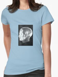Historical surgical chart Womens Fitted T-Shirt