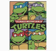 Teenage Mutant Ninja Turtles All  Kids Tee