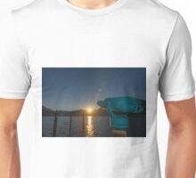 Telescope and sun Unisex T-Shirt