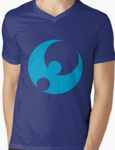 Pokemon Moon Mens V-Neck T-Shirt