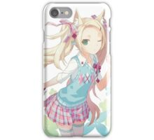 Anime Cat Girl iPhone Case/Skin