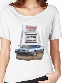 1982 DeLorean DMC-12 Day Women's Relaxed Fit T-Shirt