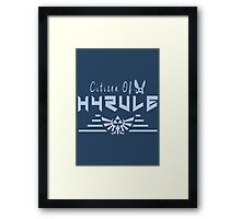Citizen Of Hyrule Framed Print