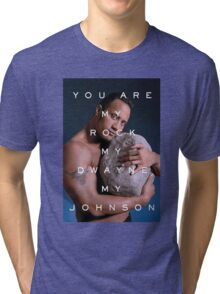 You Are My Rock Tri-blend T-Shirt