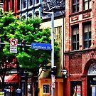 Pittsburgh PA - Liberty Ave and Smithfield Street by Susan Savad