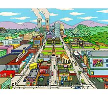 Springfield city Photographic Print