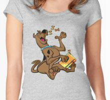 scooby doo Women's Fitted Scoop T-Shirt