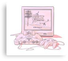 N64 Zelda Ocarina Of Time Canvas Print