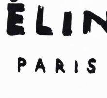 Celine Paris Logo Sticker