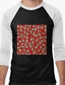 Mini Daruma Men's Baseball ¾ T-Shirt