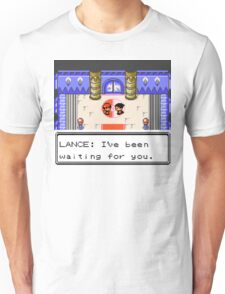 Pokemon Generation II - Champion Lance wants to fight! Unisex T-Shirt