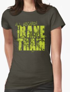 All Aboard The Bane Train Womens Fitted T-Shirt