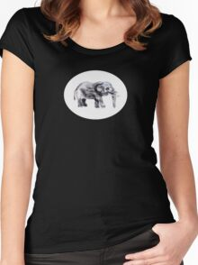 Thumbephant Women's Fitted Scoop T-Shirt